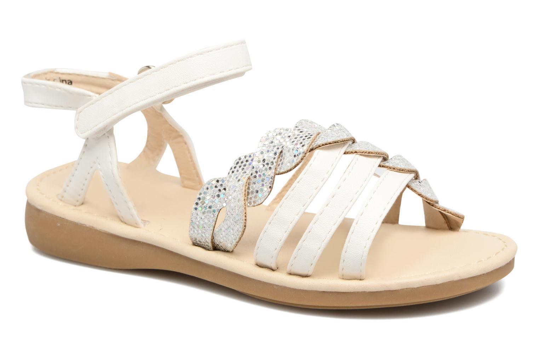 Sandaler NA! Feerie Hvid detaljeret billede af skoene