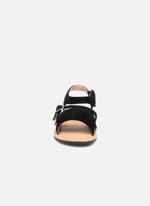 Sandalias NA! Rubis Negro vista del modelo