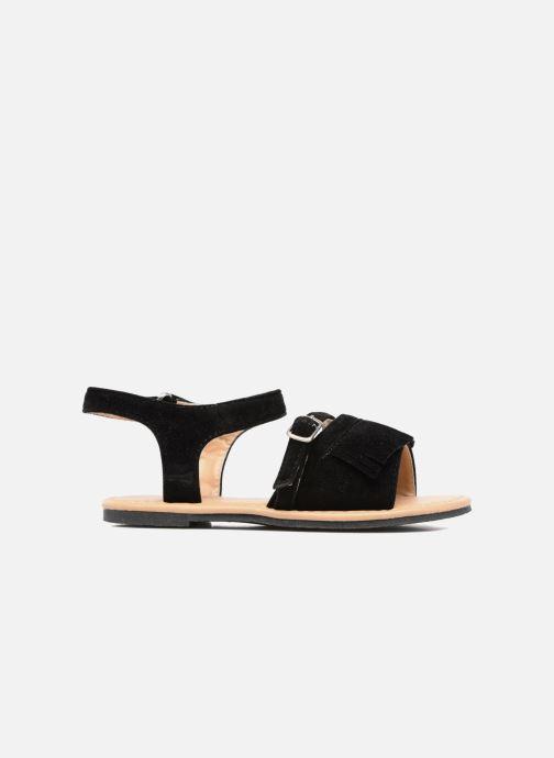 Sandales et nu-pieds NA! Rubis Noir vue derrière