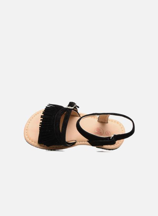 Sandales et nu-pieds NA! Rubis Noir vue gauche