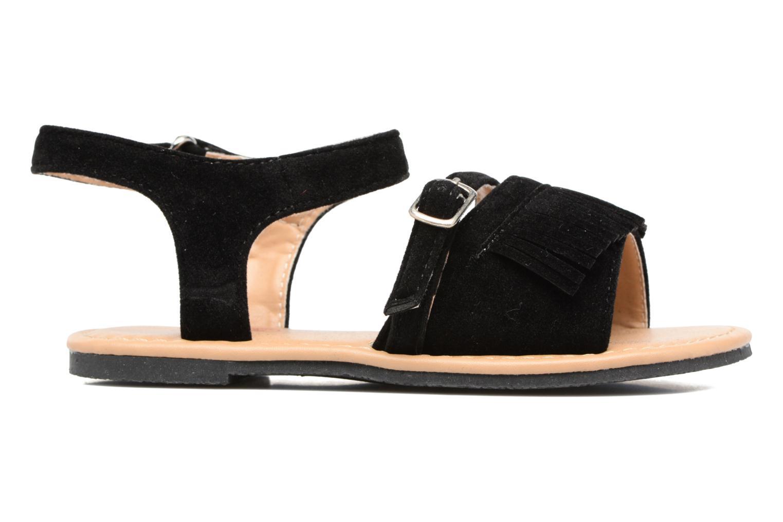Sandalen NA! Rubis Zwart achterkant
