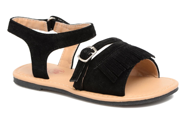 Sandalen NA! Rubis Zwart detail
