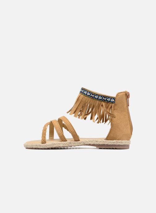 Sandales et nu-pieds NA! Rash Marron vue face