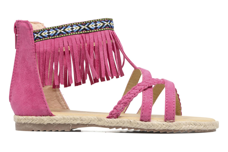 Sandalen NA! Rash Roze achterkant