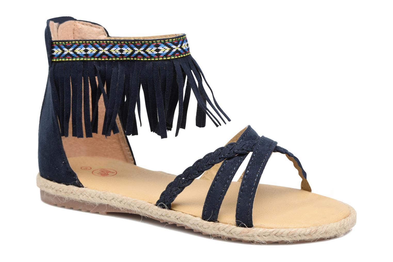 Sandales et nu-pieds NA! Rash Bleu vue détail/paire