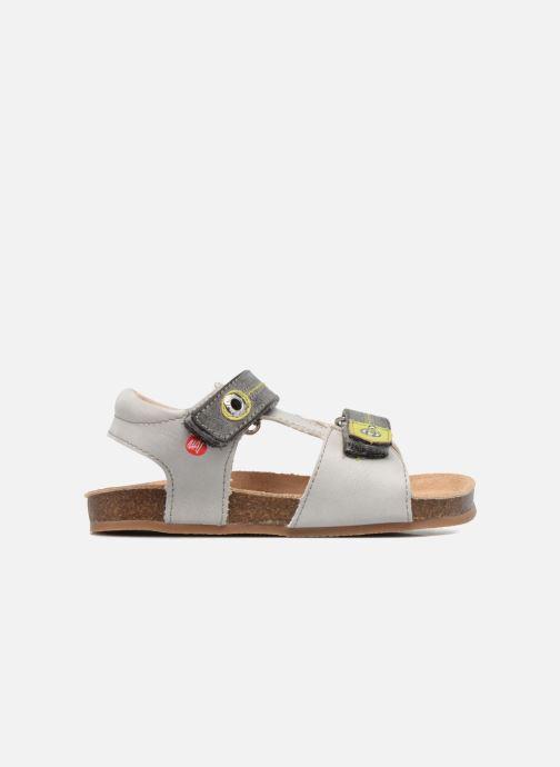 Sandales et nu-pieds NA! Anis Gris vue derrière