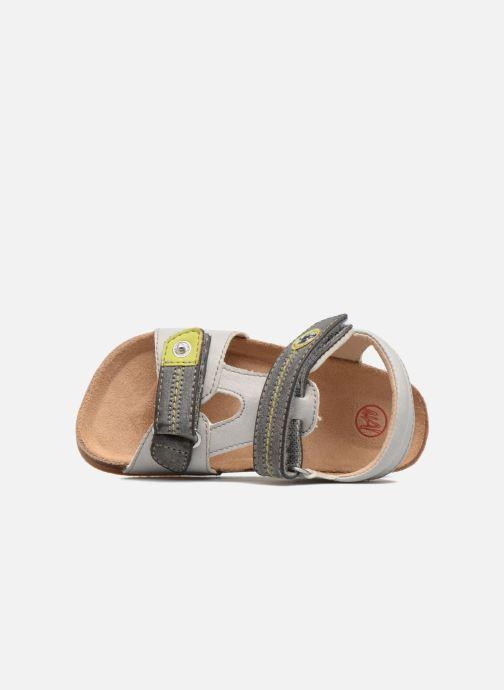 Sandales et nu-pieds NA! Anis Gris vue gauche
