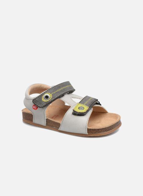 Sandales et nu-pieds NA! Anis Gris vue détail/paire