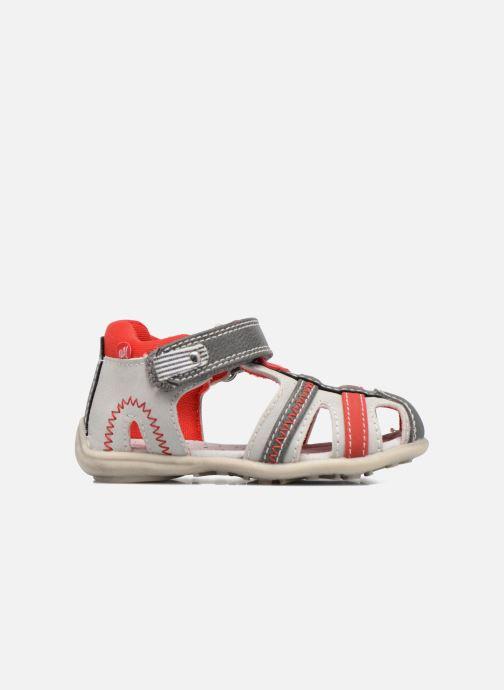 Sandales et nu-pieds NA! Angeliko Rouge vue derrière