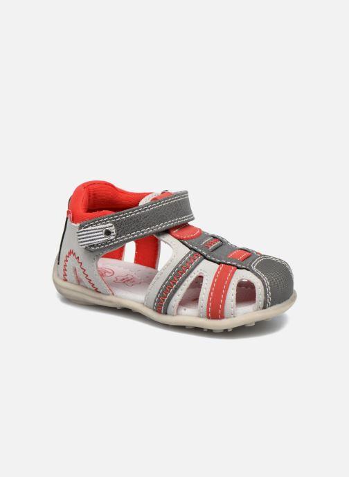 Sandales et nu-pieds NA! Angeliko Rouge vue détail/paire