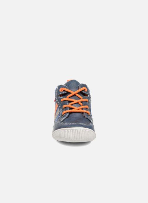 Baskets NA! Amiens Bleu vue portées chaussures
