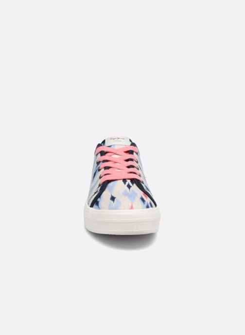 Baskets Pepe jeans Hannah 2 Multicolore vue portées chaussures