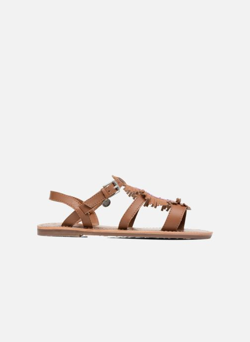 Sandalias Pepe jeans Maya Indian Marrón vistra trasera