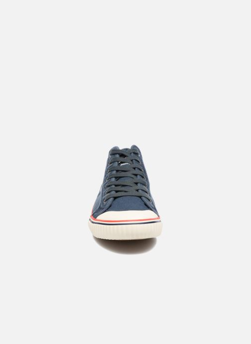 Baskets Pepe jeans Industry Road Junior Bleu vue portées chaussures