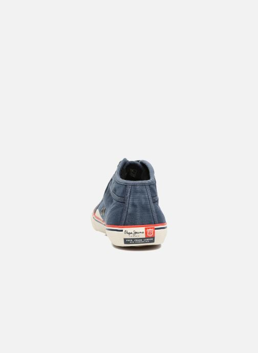 Baskets Pepe jeans Industry Road Junior Bleu vue droite