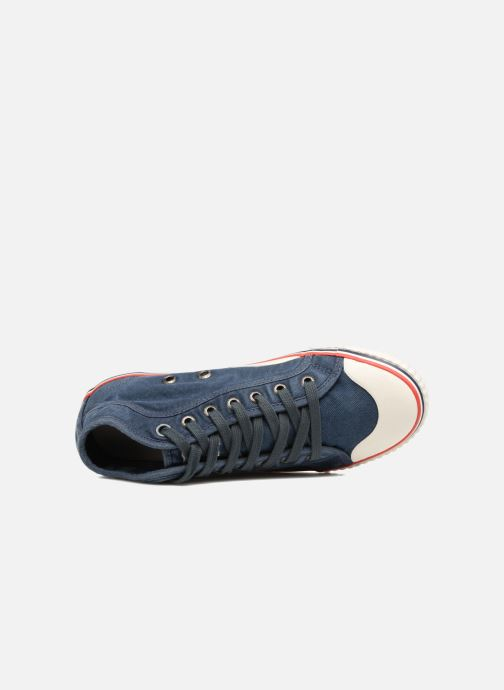 Baskets Pepe jeans Industry Road Junior Bleu vue gauche