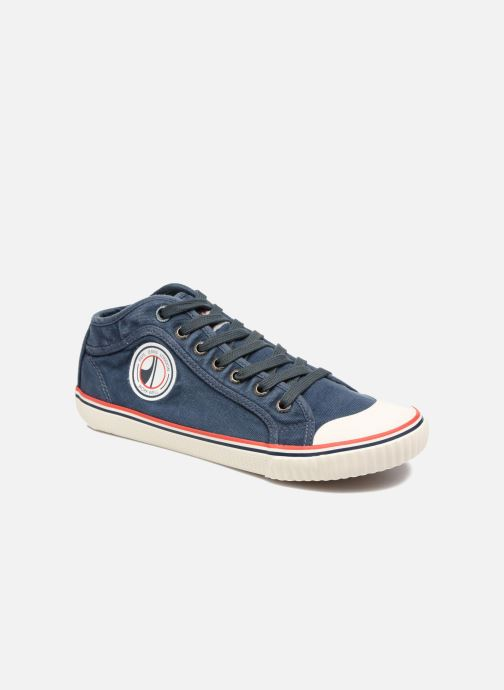 Baskets Pepe jeans Industry Road Junior Bleu vue détail/paire