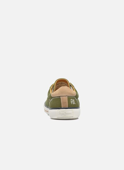 Baskets Pepe jeans Serthi Basic Marron vue droite