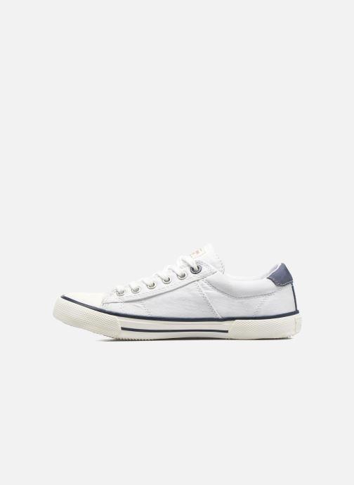 Sneakers Pepe jeans Serthi Basic Bianco immagine frontale