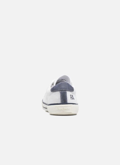 Sneakers Pepe jeans Serthi Basic Wit rechts