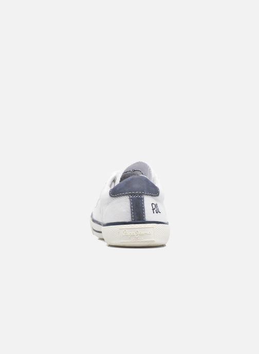 Baskets Pepe jeans Serthi Basic Blanc vue droite