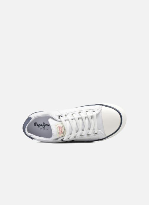 Baskets Pepe jeans Serthi Basic Blanc vue gauche
