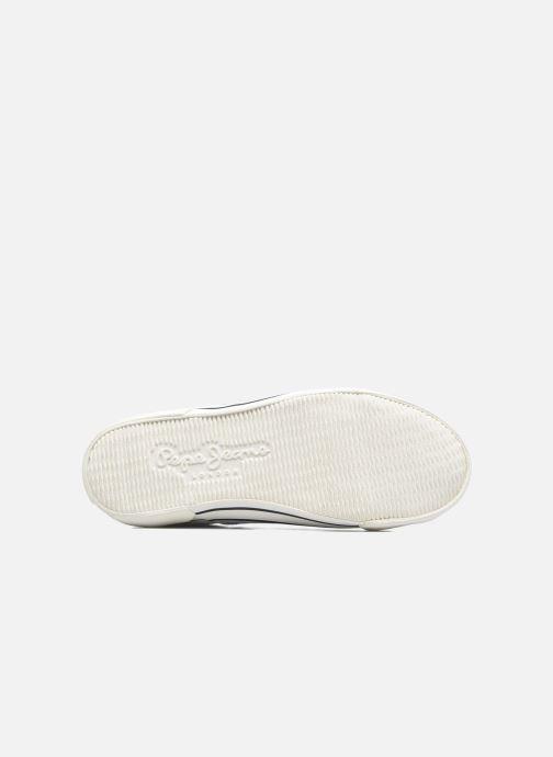 Baskets Pepe jeans Serthi Basic Blanc vue haut