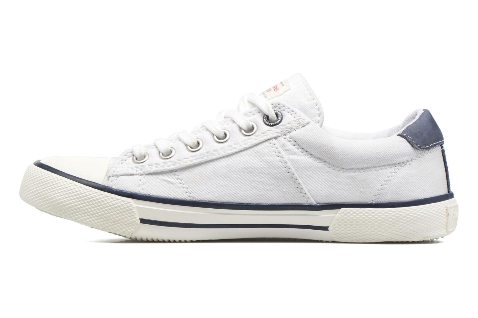 Trainers Pepe jeans Serthi Basic White front view