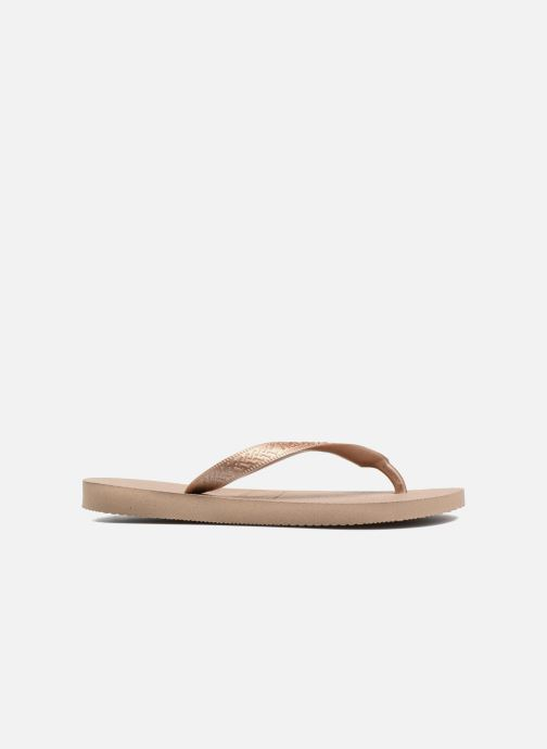 Chanclas Havaianas Top Tiras Marrón vistra trasera