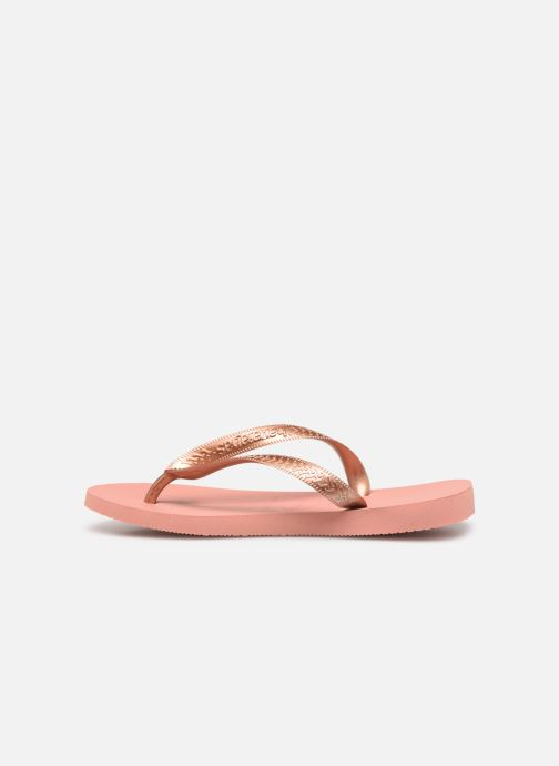 Tongs Havaianas Top Tiras Rose vue face