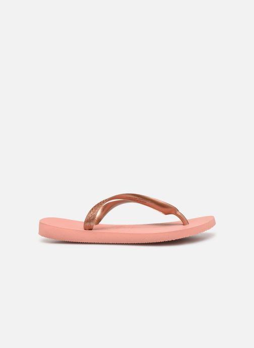 Slippers Havaianas Top Tiras Roze achterkant