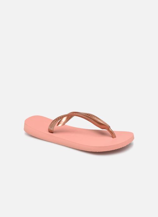 Tongs Havaianas Top Tiras Rose vue détail/paire