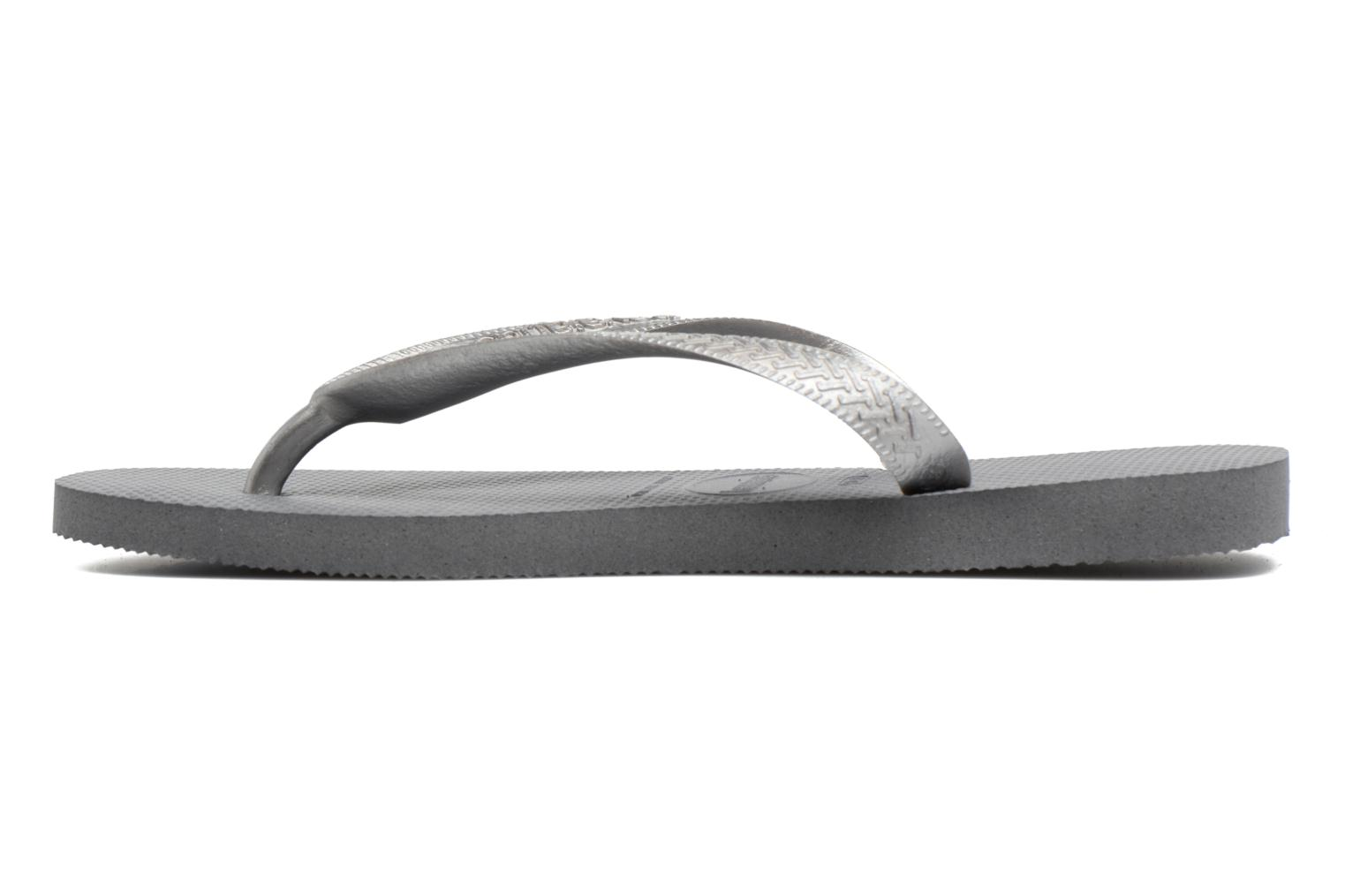 Tongs Havaianas Top Tiras Gris vue face
