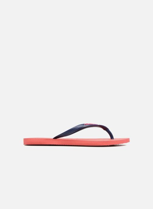 Flip flops Havaianas Slim Logo Red back view