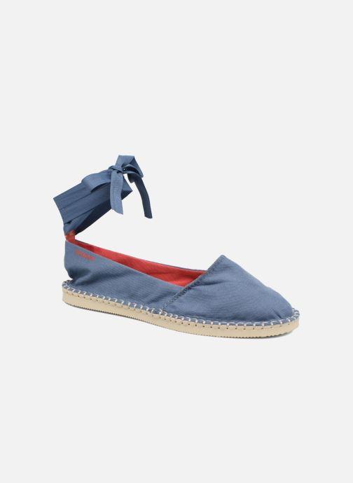 Espadrillos Havaianas Origine Slim Blå detaljeret billede af skoene