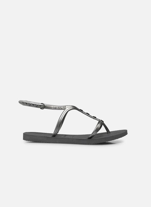 Sandales et nu-pieds Havaianas Allure Maxi Gris vue derrière