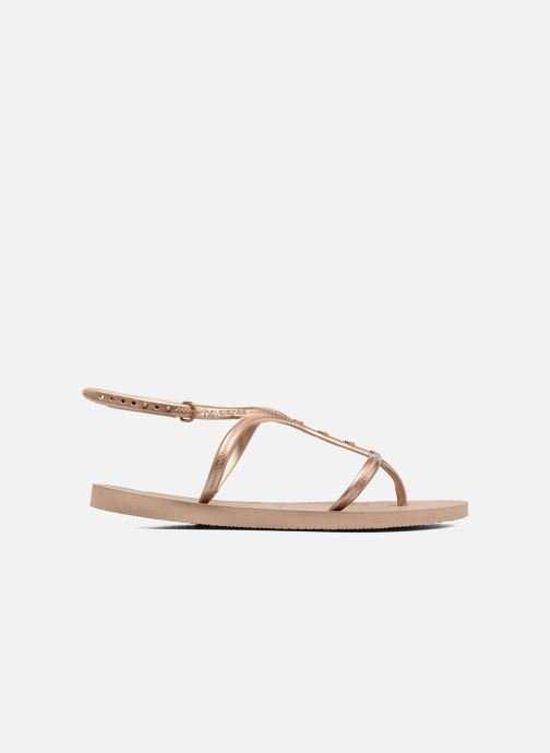 Havaianas Sandales Maxi Allure Et pieds Nu Gold Rose IfgbvyY67