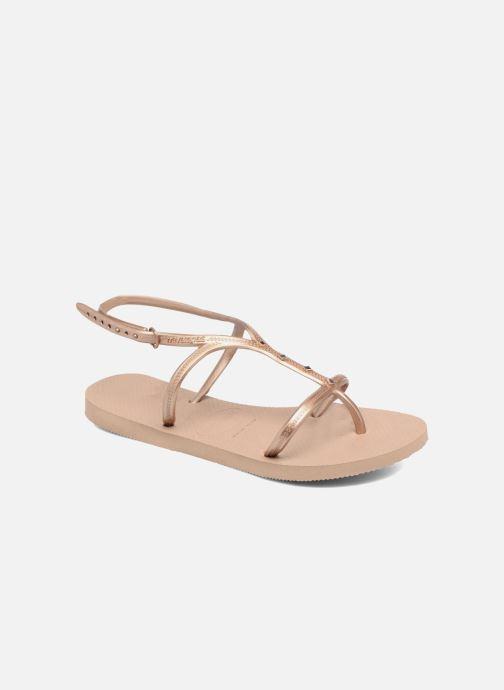 Havaianas Allure Maxi (Marron) Sandales et nu pieds chez