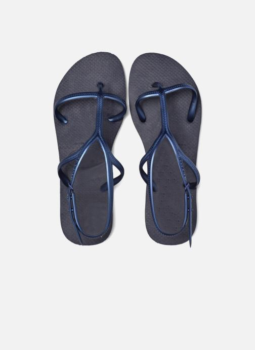 Sandalias Havaianas Allure Azul vista 3/4