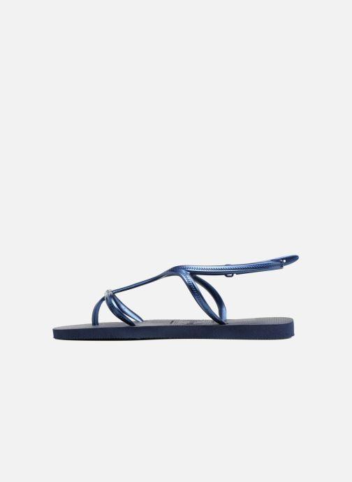 Sandalen Havaianas Allure Blauw voorkant