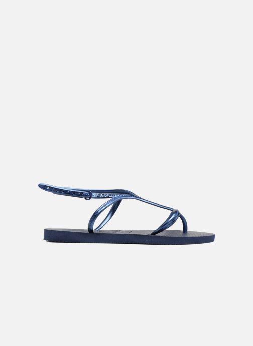 Sandalen Havaianas Allure Blauw achterkant