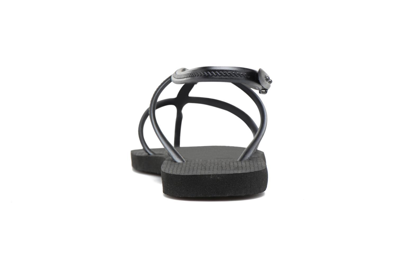 Sandales et nu-pieds Havaianas Allure Noir vue droite