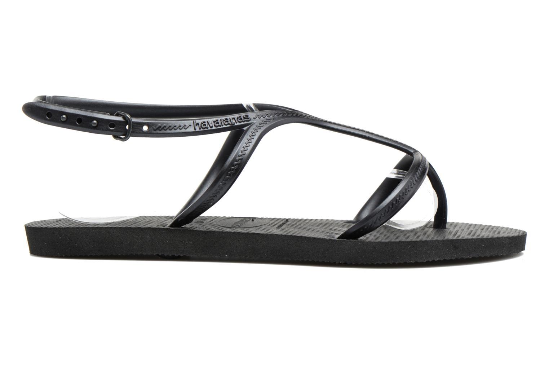 Sandales et nu-pieds Havaianas Allure Noir vue derrière