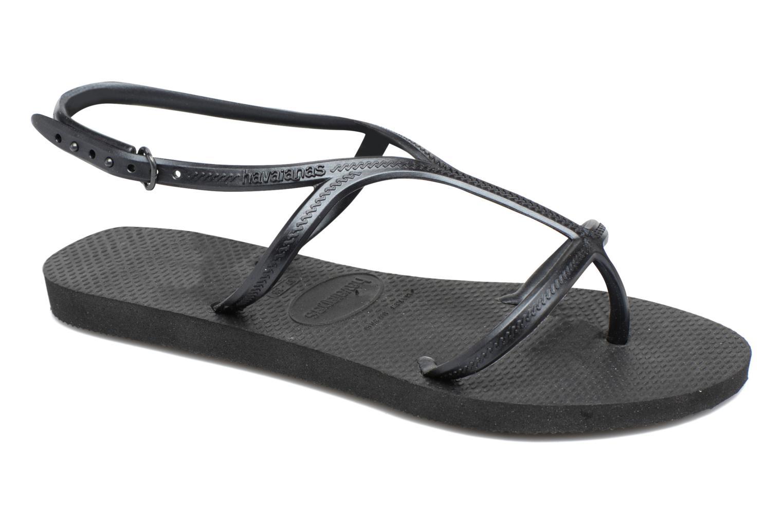Sandales et nu-pieds Havaianas Allure Noir vue détail/paire