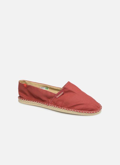 Espadrillos Havaianas Origine III Rød detaljeret billede af skoene