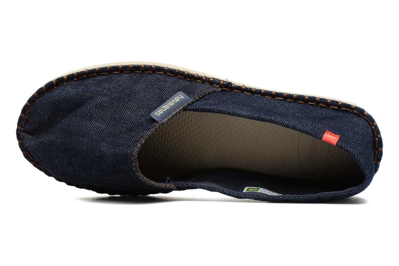 Espadrilles Havaianas Origine Relax III Blue view from the left