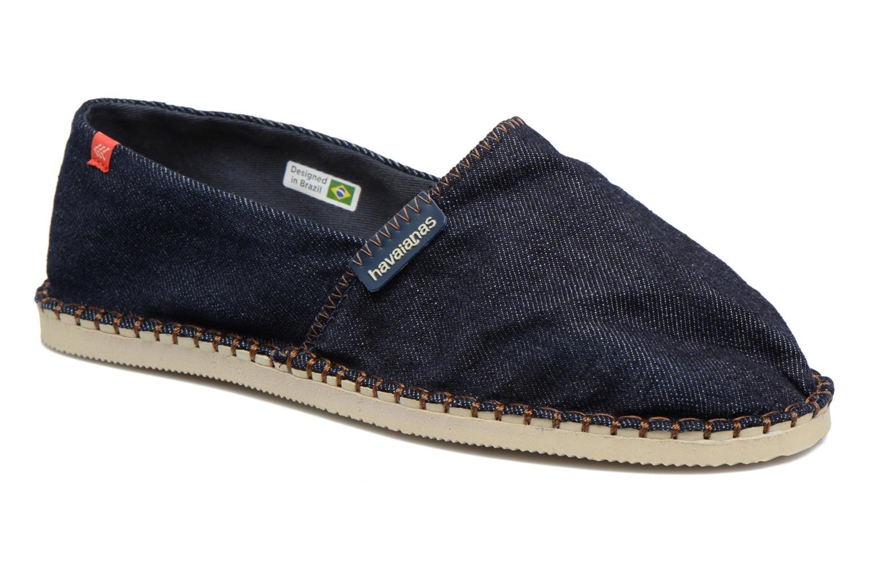 Espadrillos Havaianas Origine Relax III Blå detaljeret billede af skoene