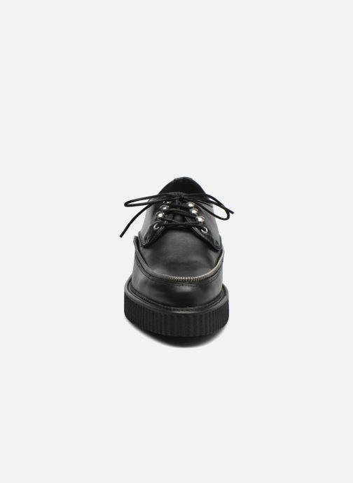 Chaussures à lacets Diesel D-Styny Zip Noir vue portées chaussures