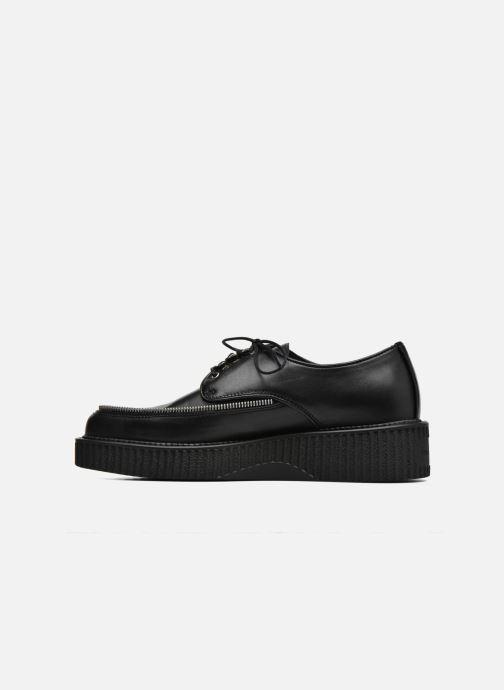 Chaussures à lacets Diesel D-Styny Zip Noir vue face