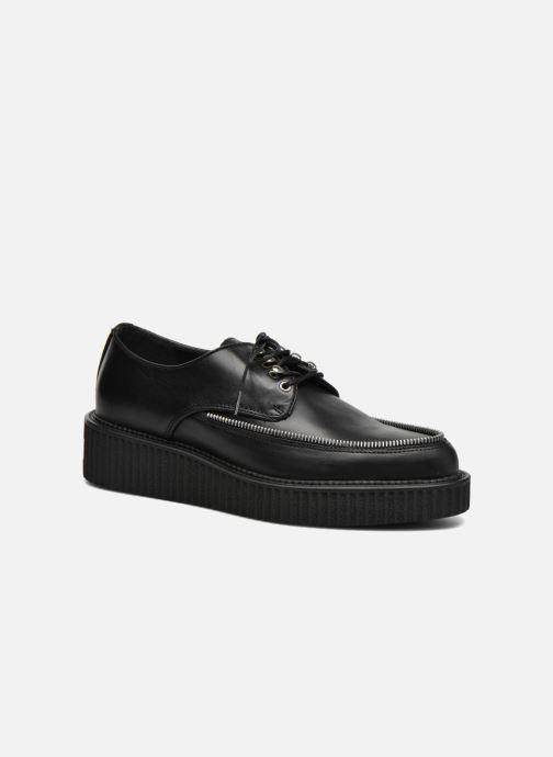 Chaussures à lacets Diesel D-Styny Zip Noir vue détail/paire